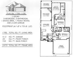 Contemporary House Plan With 3 Bedrooms And 25 Baths  Plan 31642200 Sq Ft House Plans