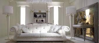 white italian furniture. Furniture , Stylish Italian Design : White Tufted Sofa