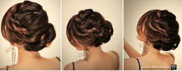 5 minute easy hairstyles for back to messy bun braids