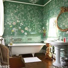 bathroom inspiration. anything but bland: non-white bathroom inspiration