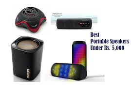best portable speakers. best portable speakers under rs. 5000 in india