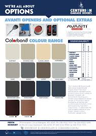 color chart wa only