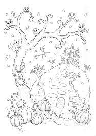 Coloriage Halloween A Imprimer Qui Fait Peur Archives Artherapie Ca