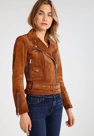 belstaff elkstone leather jacket sepia women clothing jackets