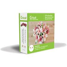 cricut project cartridge 3d floral home decor 7674775 hsn