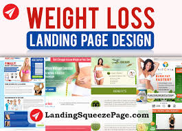 Weight Loss Tracker Template Luxury Weight Loss Landing Page Design
