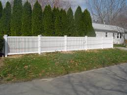 brown vinyl picket fence. Vinyl Fencing Prices, Colors And Expert Installation - SNK FENCEEverlast Fence Brown Picket E