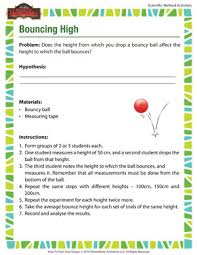 Scientific Method Worksheet High School#167021 - Myscres