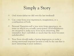 narrative essay telling your story simply a story oral stories  2 simply