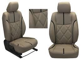 3d custom pu leather car seat covers