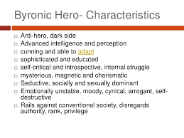george gordon lord byron byronic hero characteristics<br