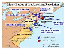 The American Revolution Key Battles. Who supported the American ...