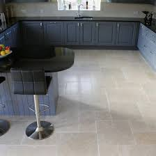 Limestone Flooring In Kitchen Dijon Tumbled Limestone Travertine Direct