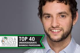 Poets&Quants For Undergrads | 2017 Top 40 Undergraduate Professors ...