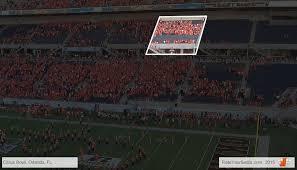 Citrus Bowl Seating Chart Football Camping World Stadium Seating Chart Interactive Map