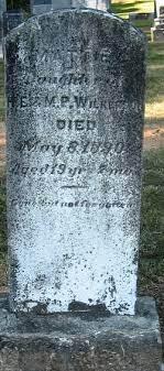 Mattie Wilkerson (1870-1890) - Find A Grave Memorial