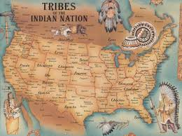 us map of the native american tribes