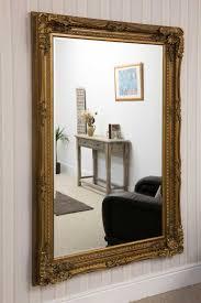 Charlton Gold Framed Mirror 123x175cm - Soraya Interiors UK