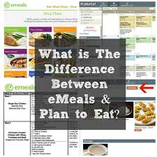 difference between plan to eat and emeals