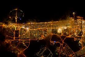 City Lights Of Dubai United Arab Emirates