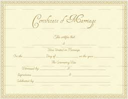 Formal Certificates Editable Marriage Certificates For Word Pdf Format Dotxes