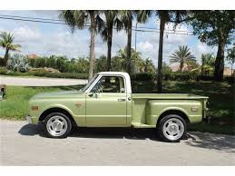 All Chevy chevy c10 short bed : 1969 Chevrolet C10 Shortbed Stepside for Sale | ClassicCars.com ...