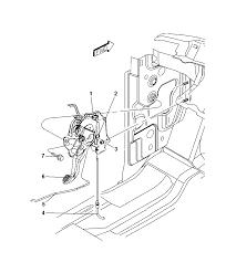 2004 dodge dakota parking brake lever diagram 00i79692