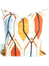 orange throw rugs australia rug delightful burnt adorable multi coloured chunky knit
