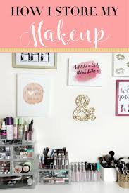 explore makeup organization organization and more sharing with you my favorite acrylic storage
