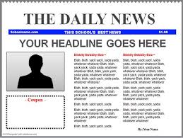 Powerpoint Newspaper Clipping Template Newspaper Powerpoint Template Magdalene Project Org