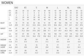 International Women S Size Chart International Size Chart Smokke Show