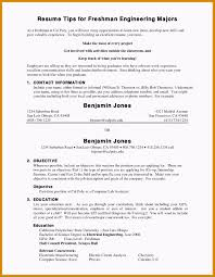 College Freshman Resumeate Jwritings Com Uses Simple Words Resume