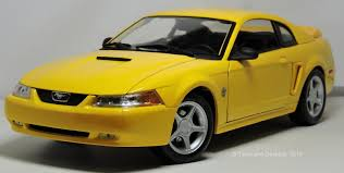 Two Lane Desktop: Maisto 1:18 1999 Ford Mustang GT coupe and 35th ...