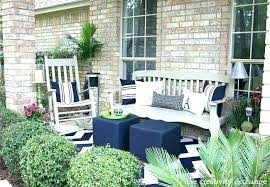the porch furniture. Front Porch Chairs Cheap Patio Furniture Placement Revamp From The Creativity Exchange Decorating Ideas Outdoor