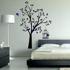 bedroom wall art decor cozy designs tree birds birdcage pretty lovely in addition to ideas for bedroom wall decor  on pretty wall art decor with bedroom wall art ideas for decorations master designs nsba