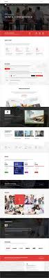 Event Website Template Mesmerizing Smartup Event Management PSD Template Pinterest Conference