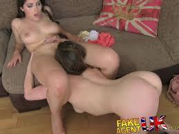 British milf in lesbian anal threesome