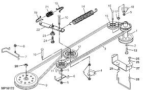installation repair and replacement of john deere sabre 14 5 38 john deere sabre 14 5 38 gear tractor drive belt gx10062 diagram of drive belt