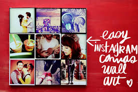 diy instagram canvas wall art 2 on photo canvas wall art with instagram canvas wall art a beautiful mess