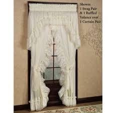 Madelyn Ruffled Priscilla Curtains Window Treatment