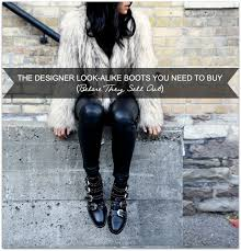 Studded Boots Designer The Designer Look Alike Boots You Need To Buy Before They