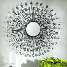 metal starburst wall decor crystal sunburst wall decor modern sunburst metal wall mirror crystal starburst wall