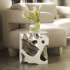home decor furniture phillips collection. The Phillips Collection Furniture. Freeform Stool // Silver Leaf Furniture R Home Decor