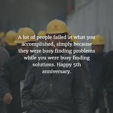 5 Year Anniversary Quotes Extraordinary 48 Best Work Anniversary Quotes For 48 Years EnkiQuotes