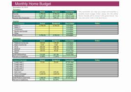 Sample House Budget House Budget Spreadsheet Or Household Bud Template 9 Free