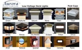 6x6 Deck Post Lights Led Post Cap Lights 6x6 Bigit Karikaturize Com