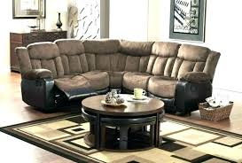 sleeper sectional with recliner sofa and chaise couch sectionals recliners top best reclining sofas lane leather sl