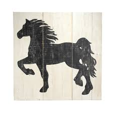 hand painted silhouette of a horse is set against a wood panel resembling old barn board the perfect art piece for your country home wild horse silhouette  on horse silhouette wall art with hand painted silhouette of a horse is set against a wood panel