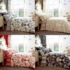 details about richmond vintage style duvet covers quilt cover reversible bedding set all sizes