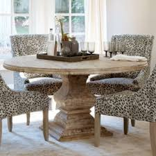 andrews pedestal dining table ballard designs yeah ballard finally introduced a 60 diameter table that can seat six i don t care much for the chairs in